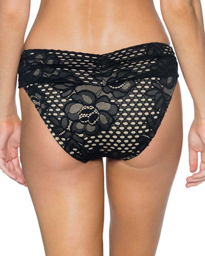 HONEY LACE ALOHA BANDED BOTTOM SWIM SYSTEMS C247HOLA