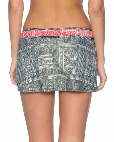 SUMMER SAFARI REBEL SWIM SKIRT SWIM SYSTEMS C280SUSA