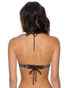 MIDNIGHT SAFARI LOVEBIRDS HALTER TOP SWIM SYSTEMS C610MISA
