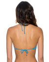 BAY BLUE ELEVATE HALTER TOP SWIM SYSTEMS C611BAYB