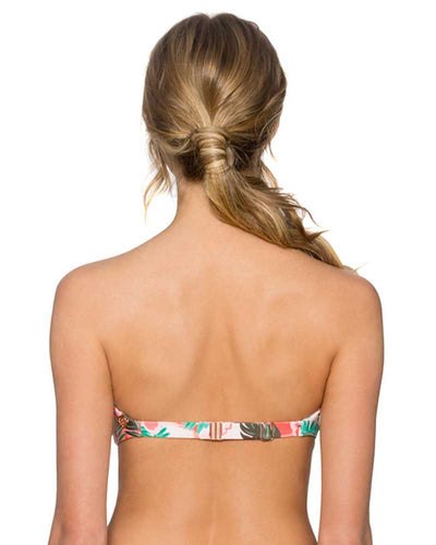 CALIFORNIA PALMS TRELLIS BANDEAU TOP SWIM SYSTEMS C624CAPA
