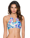 MEADOW MIRANDA HI-NECK TOP SWIM SYSTEMS C628MEDW
