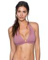 MAUVELOUS LA JOLLA HALTER TOP SWIM SYSTEMS C700MAUV