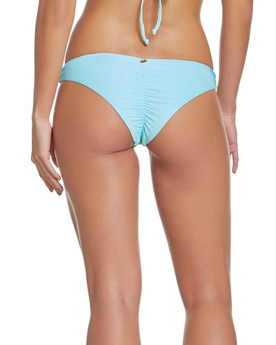 CABANA BLUE BASIC RUCHED BOTTOM PILYQ CAB-211T