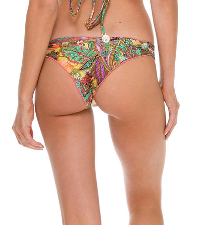 CALLEJERA STRAPPY BRAZILIAN RUCHED BOTTOM LULI FAMA L511020-111
