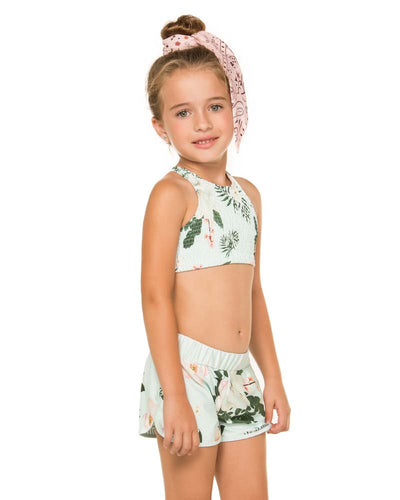 CAMELLIA APRIL GIRLS SHORTS AGUA BENDITA AN2001118-1