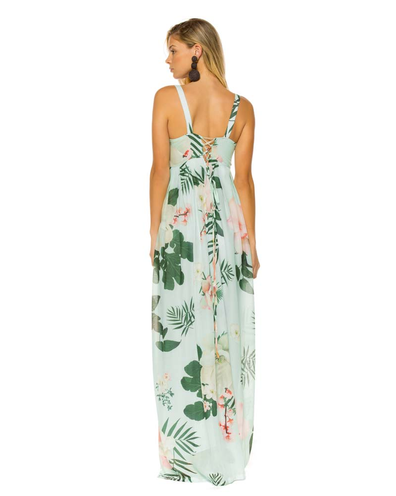 CAMELLIA ELVIRA MAXI DRESS BY AGUA BENDITA