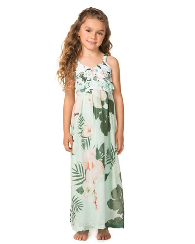 CAMELLIA KIM GIRLS DRESS AGUA BENDITA AN4000518L1