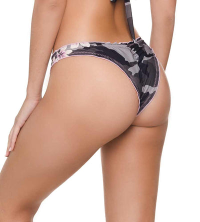 CAMO FROU FROU LONG TRI BIKINI BOTTOM  DESPI 4721BF