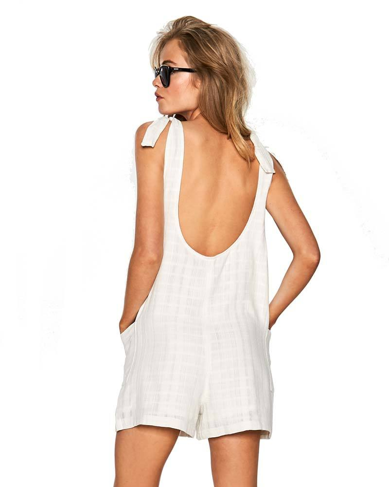 IVORY CARINA ROMPER BY LSPACE