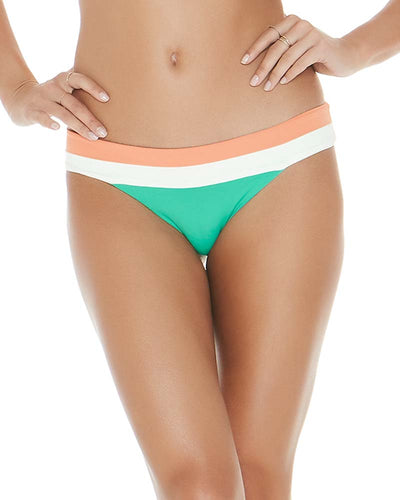 COLOR BLOCK SPEARMINT VERONICA BLOCKED BOTTOM LSPACE CBVBB18-SPR