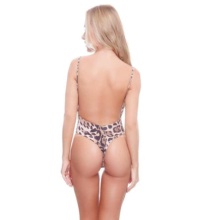 CHEETAH BROWNIE CHRISTY ONE PIECE DESPI 4364CH
