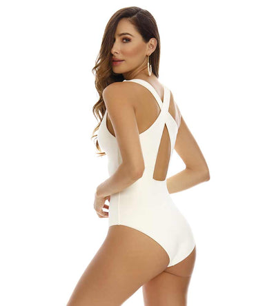 CHLOE IVORY RING ONE PIECE MILONGA CHL701