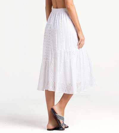 CLOUD DANCER LONG SKIRT TOUCHE 0F75001