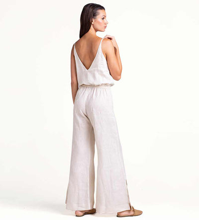 COCONUT MILK LONG JUMPSUIT TOUCHE 0A55001