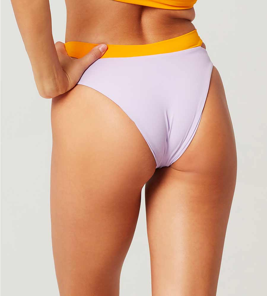 COLOR BLOCK LILAC/MANGO ZAC BOTTOM BY LSPACE