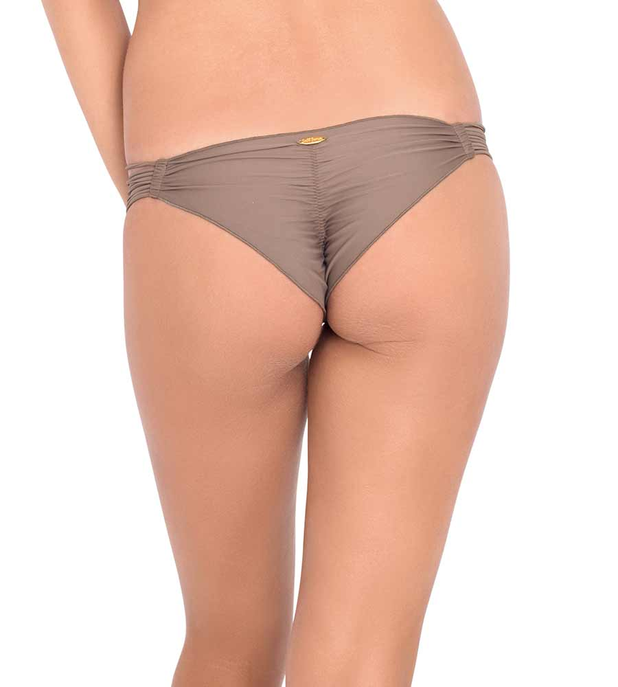 COSITA BUENA SANDY TOES STRAPPY BRAZILIAN RUCHED BOTTOM BY LULI FAMA
