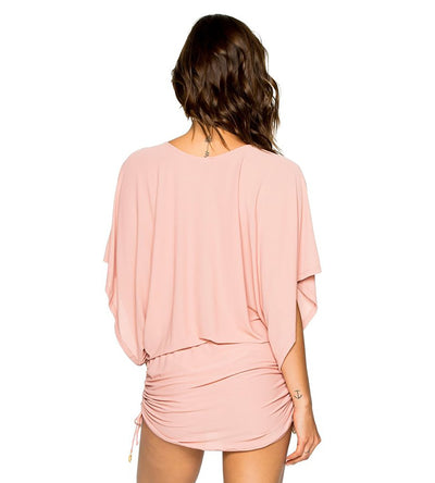 COSITA BUENA ROSA SOUTH BEACH DRESS LULI FAMA L177968-424