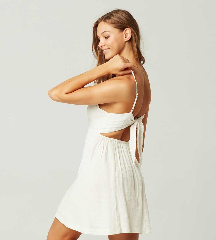 CREAM SOPHIA DRESS BY LSPACE