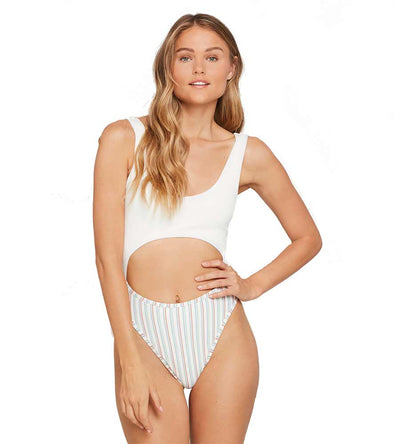 BECCA TILLEY X L*SPACE KIRA ONE PIECE LSPACE CSKAMB192-CBS