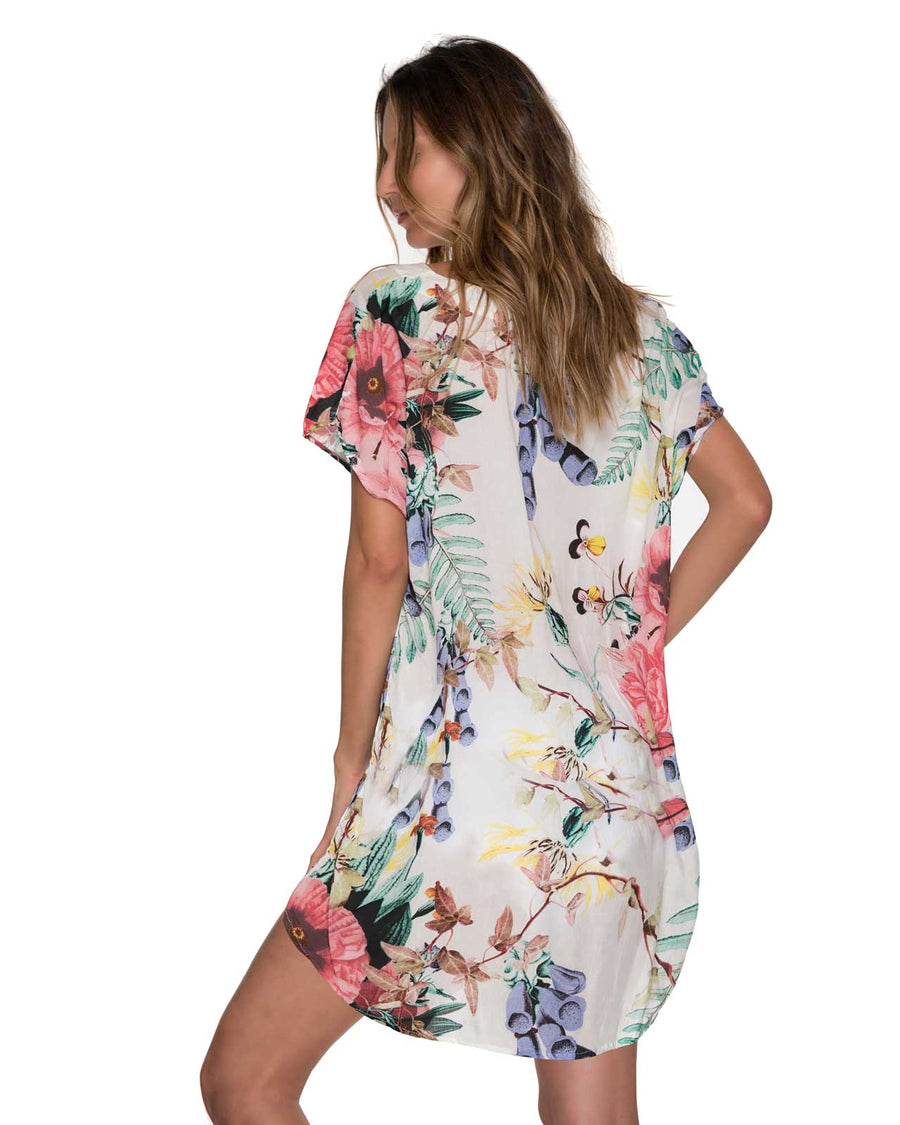 FLOWERY TWISTER COVER UP MALAI CU0211