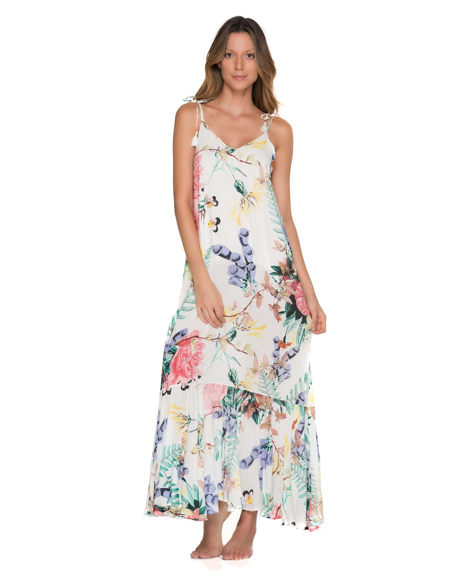 FLOWERY RUFFINO MAXI DRESS BY MALAI