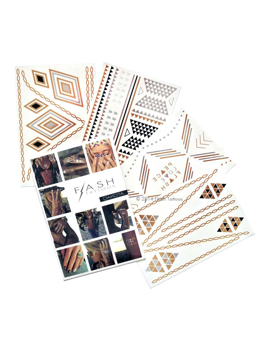 DAKOTA FLASH TATTOOS FT002