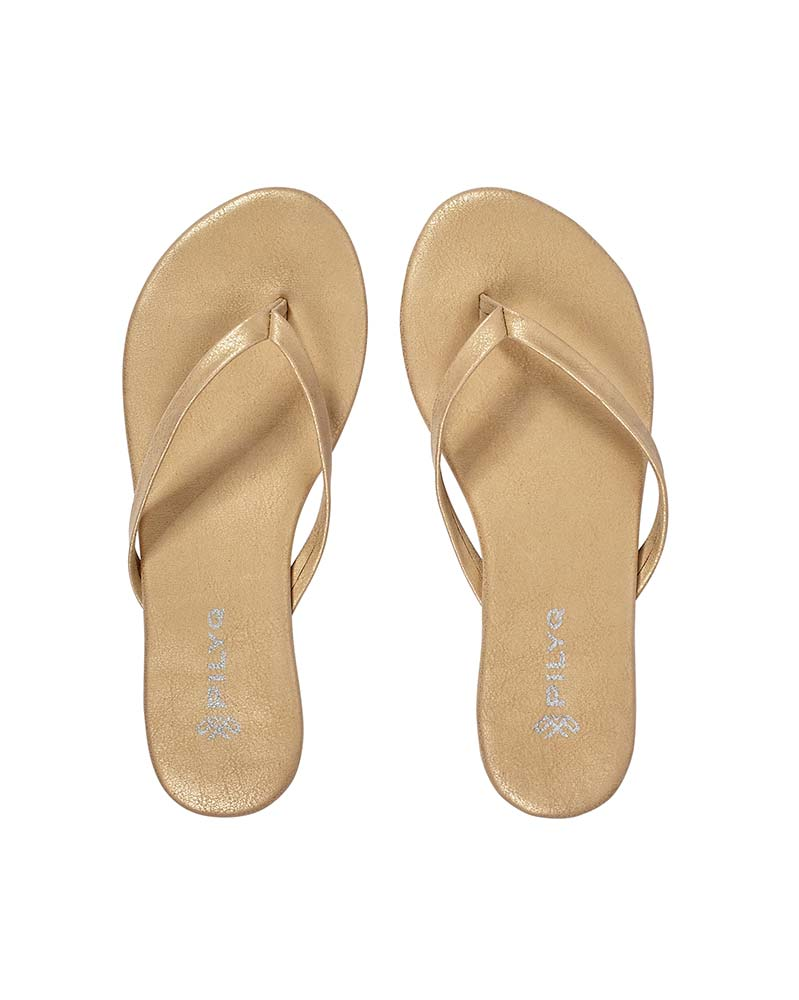 GOLD SHINE SANDAL PILYQ FFC001-GOLD