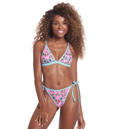 FRESH BREEZE LEILANI TIE SIDE HIGH LEG BIKINI BOTTOM MAAJI 2652SCC001
