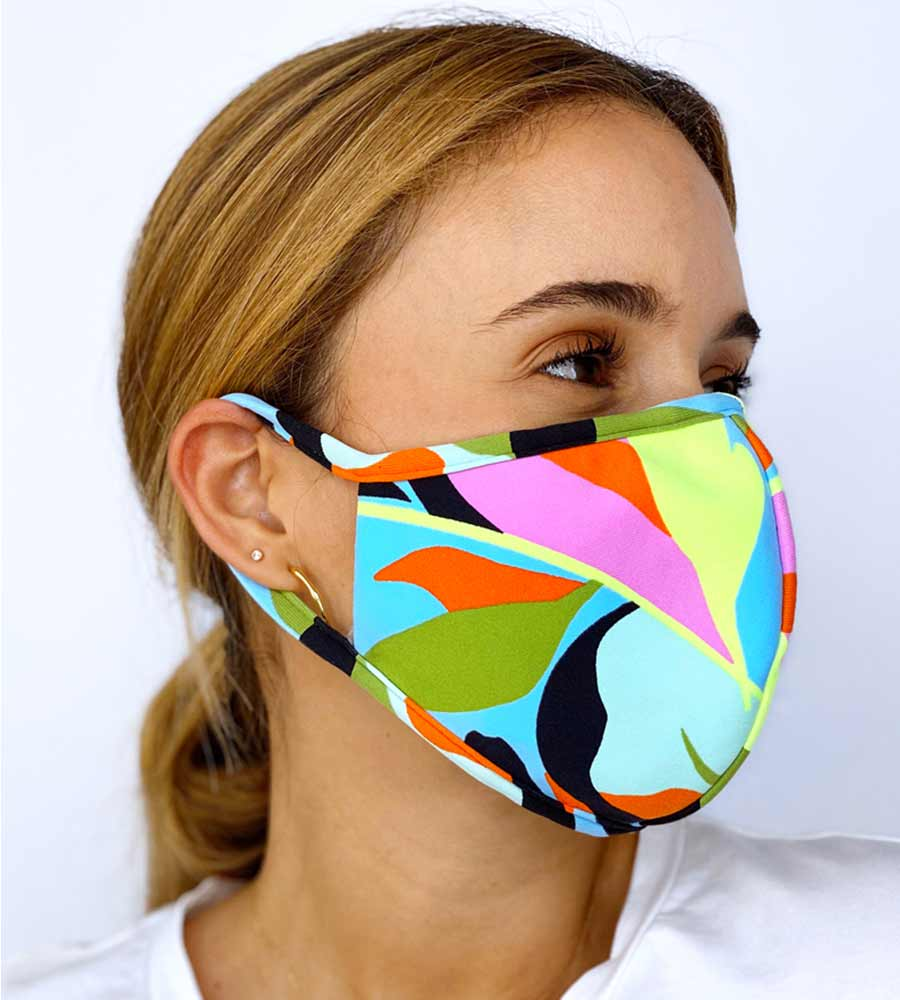 LIFE OF PEACE REVERSIBLE FACE MASK MAAJI 1015INV004