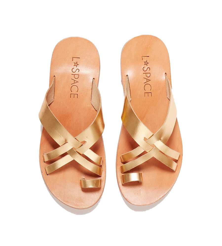 GOLD SHORE BREAK SANDAL LSPACE LSSHB20-GLD