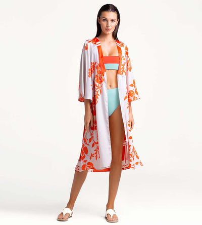 GOLDEN POPPY MAXI COVER UP TOUCHE 0A45001