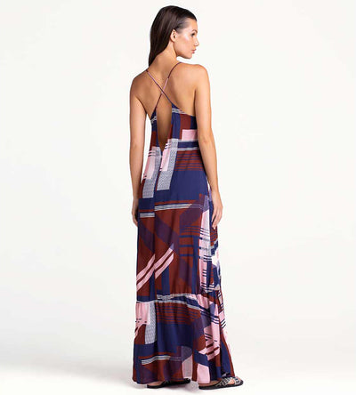 GRAPHIC GARNET MAXI DRESS TOUCHE 0F66001