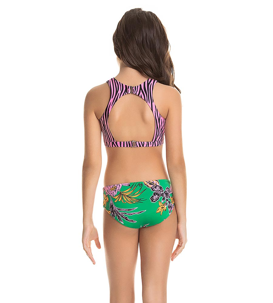 GREEN AVENTURA GIRLS BIKINI SET MAAJI 3246KKB001