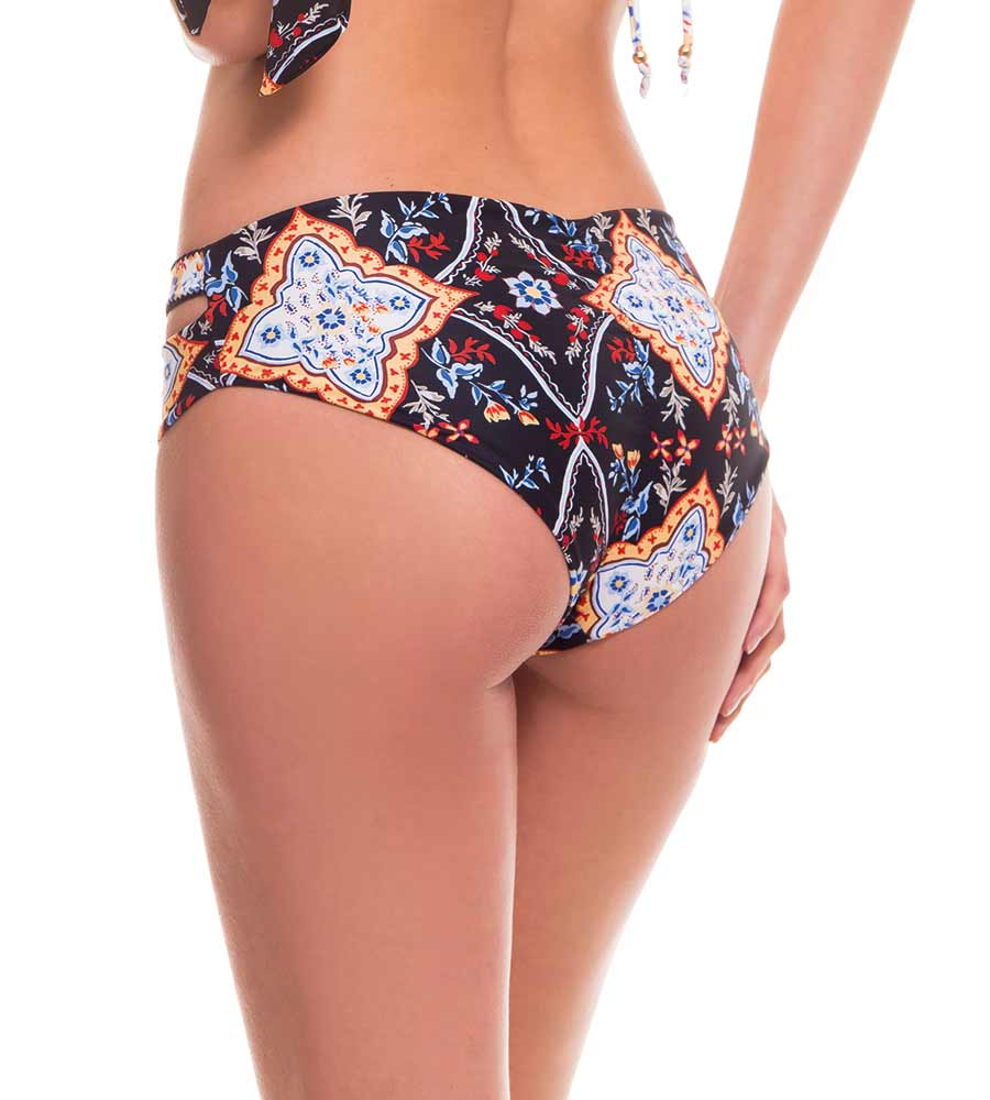 GYPSY WAISTBAND BIKINI BOTTOM BY MILONGA