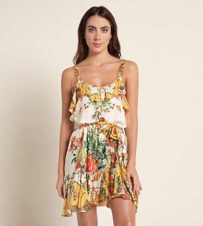 GYPSY CAMILLE DRESS AGUA BENDITA AF4000820-1