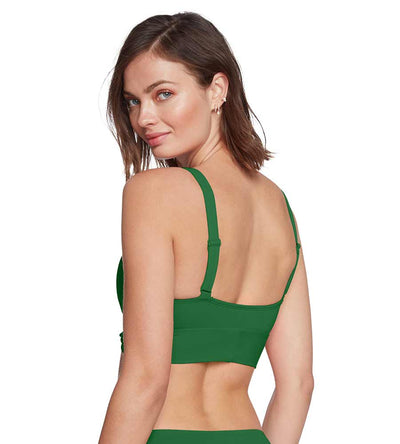 HAILEY KELLY GREEN TIE FRONT TOP ROBIN PICCONE 201601-KEL