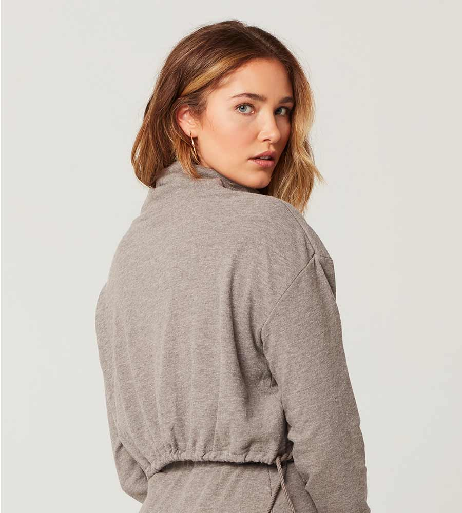 HEATHER GREY CLAIRE PULLOVER LSPACE CLATP20-HTG