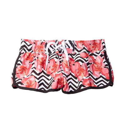 HULA GIRL GIRLS SWIM SHORTS AZUL 401