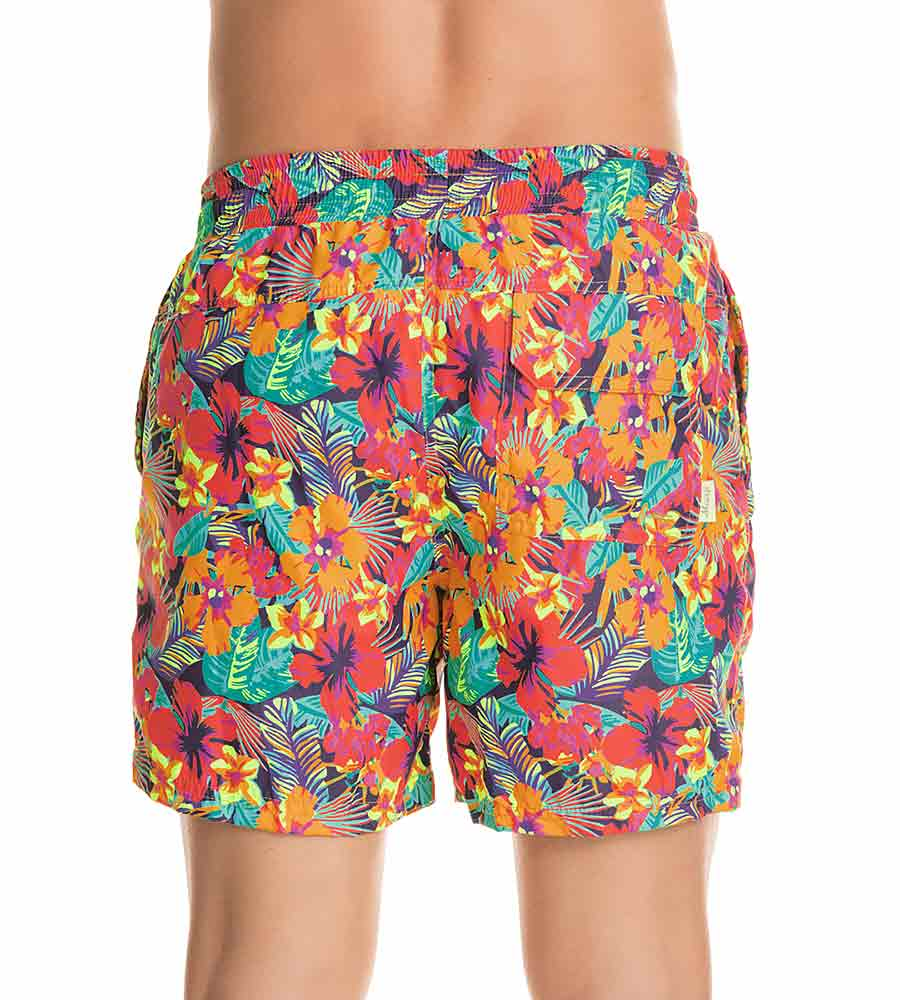 HULA LOVE SPORTY SWIM TRUNKS BY MAAJI
