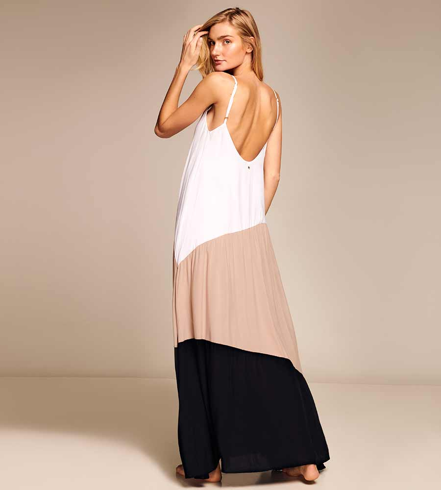 ICED FRAPPE MAXI DRESS TOUCHE 0F11002