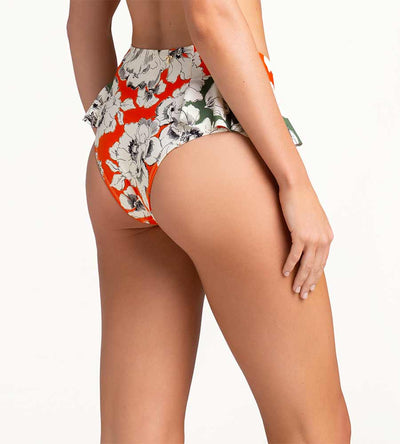 ICELAND POPPY RUFFLE HIGH WAIST BOTTOM TOUCHE 0P16001