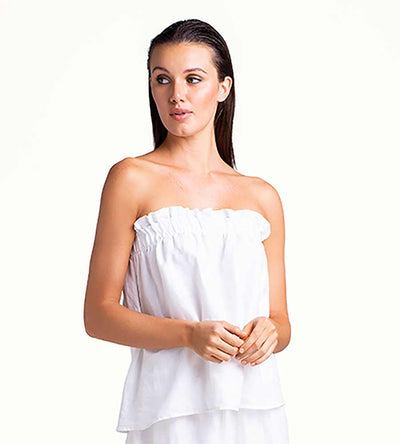 ICICLE STRAPLESS TOP TOUCHE 0A58001