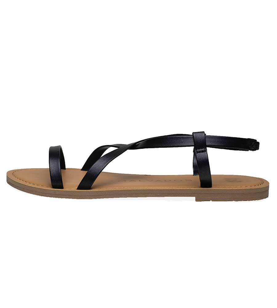 ICON ALANIS BLACK SANDALS MALVADOS SANDALS 3017-0102