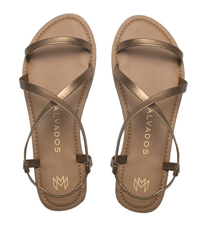 ICON ALANIS COPPER SANDALS MALVADOS SANDALS 3017-0891