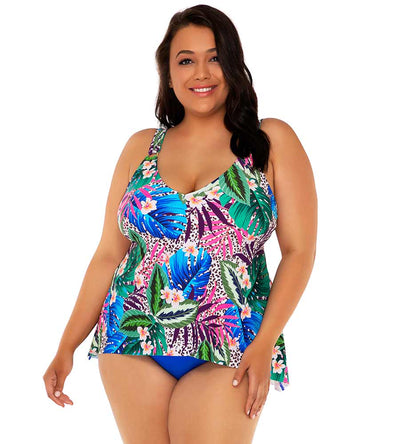 ISLAND SAFARI AMELIA TANKINI TOP SUNSETS ESCAPE 574TISSAF
