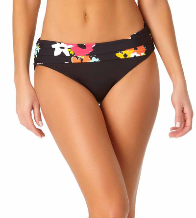ISLAND BLOOM FOLDOVER BIKINI BOTTOM ANNE COLE 20MB30227-MULT
