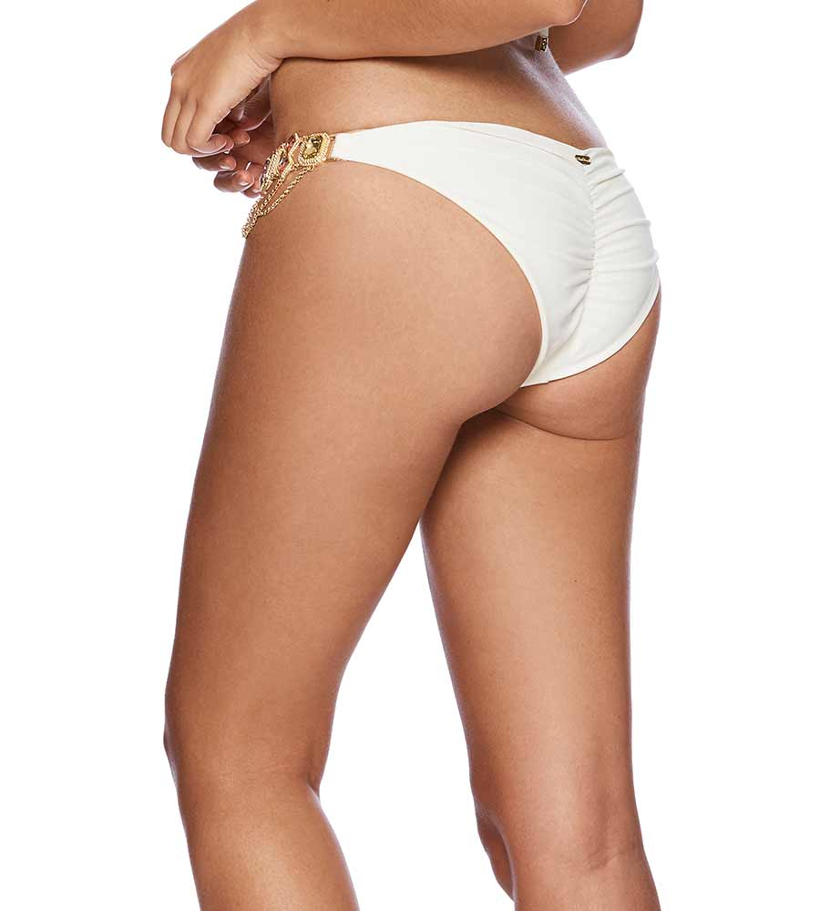 IVORY JAZMIN SKIMPY BOTTOM BY BEACH BUNNY