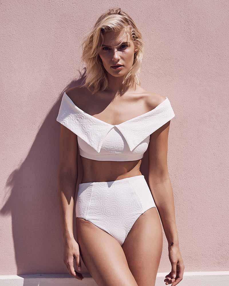 IVORY JOLIE HIGH WAIST BOTTOM AMAIO JO-205B-JQ-WH