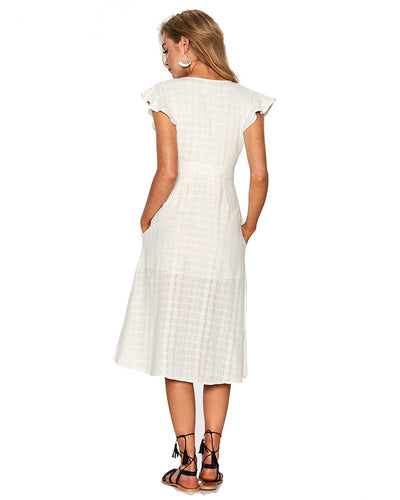 IVORY JORDAN DRESS LSPACE JORDR18-IVO